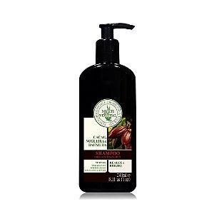 Shampoo De Nogueira, Cacau E Baunilha Para Cabelos Escuros - Multi Vegetal - 240ml