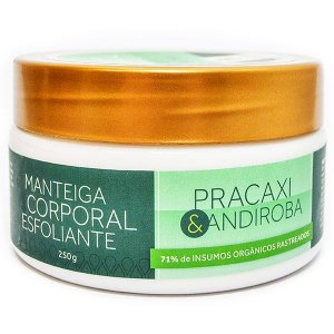 Manteiga Corporal Pracaxi e Andiroba Natural Orgânica Vegana - Cativa Natureza - 250g