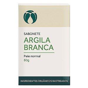 Sabonete Argila Branca para Pele Normal Orgânico Natural Vegano - Cativa Natureza - 60g