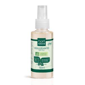 Desodorante Spray Natural e Vegano 120 ml - Boni