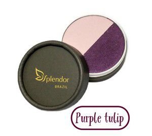 Dueto de Sombras Purple Tulip 3,5g - Glory By Nature