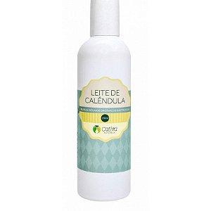 Leite de Calêndula Hidratante Natural Orgânico Vegano  - Cativa Natureza