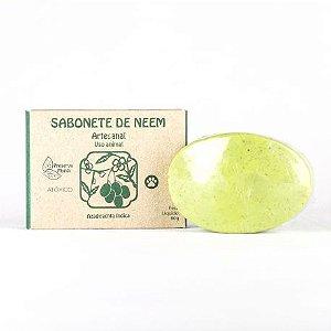Sabonete para Animais Natural e Vegano Preserva Mundi de Neem 80g