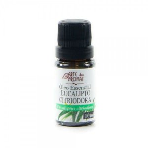 Óleo Essencial Eucalipto Citriodora - 10ml Arte dos Aromas