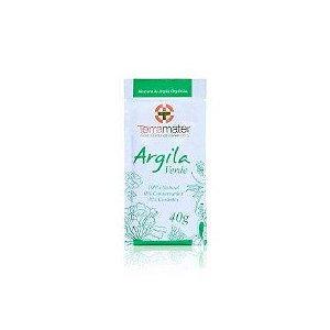 Argila Orgânica e Certificada - Verde - Terramater 40 gr