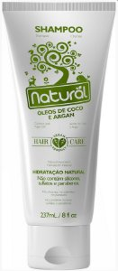 Shampoo Natural Suavetex com Óleos de Coco e Argan 237mL- Orgânico Natural
