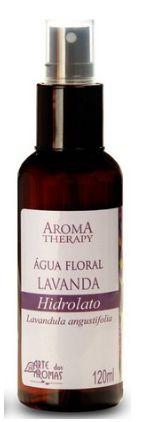 Água Floral Lavanda 120mL - Arte dos Aromas