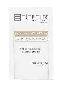 Argila Branca & Pó de Pérolas  - Elemento Mineral
