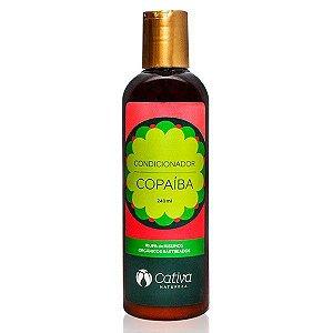 Condicionador Copaíba Orgânico Natural Vegano 240ml - Cativa Natureza
