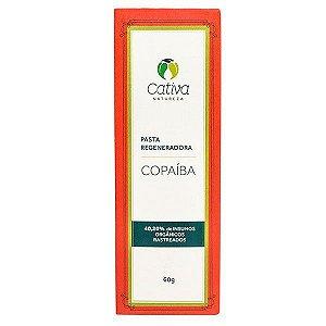 Pasta Regeneradora Copaíba  Natural Vegana  - Cativa Natureza