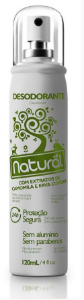 Desodorante Natural com Extratos de Camomila e Erva Cidreira 120ml - Orgânico Natural