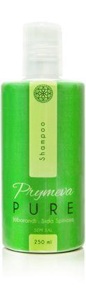 Shampoo Linha Natural 250ml - Prymeva Pure