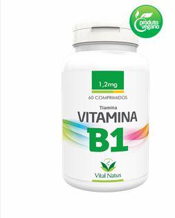 Vitamina B1 1,2mg com 60 Cápsulas - Vital Natus