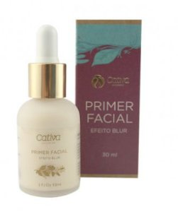 Primer Facial Orgânico Natural Vegano 30ml - Cativa Nature