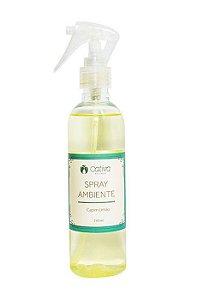 Spray para Ambiente Capim Limão Orgânico Natural Vegano 240ml - Cativa Natureza