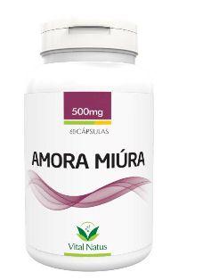AMORA MIURA 500MG 60 CÁPSULAS - VITAL NATUS