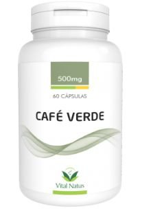 CAFÉ VERDE 500MG C/ 60 CAPSULAS - VITAL NATUS