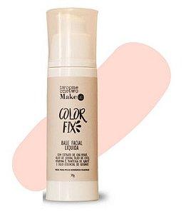 Base Facial Líquida Color Fix Vegana e Natural Cor 00 Clara 30g - Twoone Onetwo