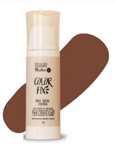 Base Facial Líquida Color Fix Vegana e Natural Cor 06 Escura 30g - Twoone Onetwo