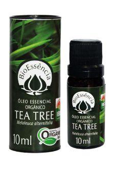 ÓLEO ESSENCIAL DE TEA TREE ORGÂNICO 10ml - BioEssência