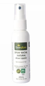 Spray Bucal Natural Aloe Lippia - Livealoe