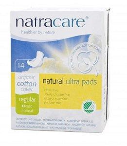 Absorvente Orgânico Natracare Regular com abas ULTRA PADS c/ 14 unid. - Natracare