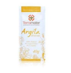 Argila Orgânica  Dourada Remineralizante 40g - Terramater
