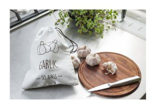 Sacola Reutilizável Garlic  -  So Bags