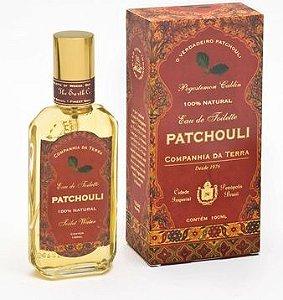 Perfume Patchouli 100mL  - Companhia da Terra