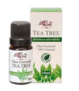 Óleo Essencial Tea Tree / Melaleuca 10mL - Arte dos Aromas