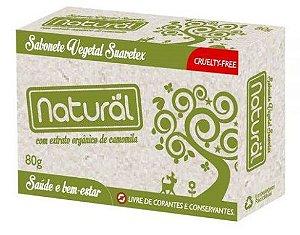 Sabonete Vegetal Suavetex Extrato Camomila  - Contente Natural
