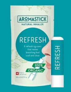 nalador Nasal Orgânico Refresh -– AromaStick