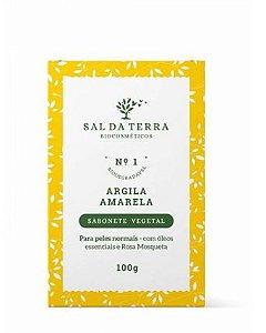 Sabonete Argila Amarela - Sal da Terra