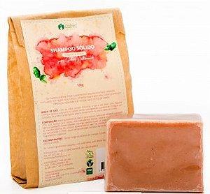 Shampoo Sólido de Pimenta Rosa Orgânico - Cativa Natureza