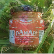 Pasta de Limpeza Facial para Peles Sensíveis pAmAri - Abhayabrazil
