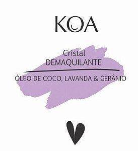 Demaquilante com Óleo de Coco, Lavanda & Gerânio - KOA