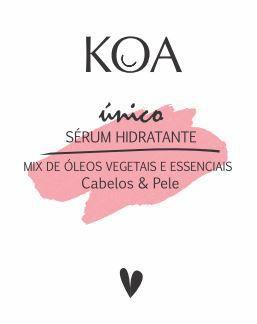 Sérum  Hidratante com Mix de Óleos Vegetais e Essenciais - KOA