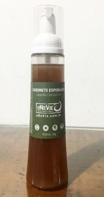 Sabonete Líquido Espumante Lavanda e Barbatimão 150g - Unevie