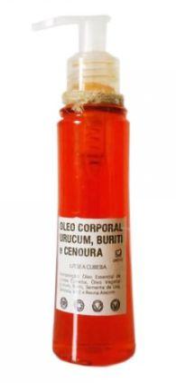 Óleo Corporal de Urucum, Buriti e Cenoura 120g -  UneVie
