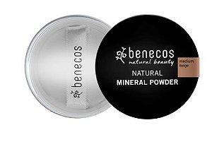 Pó Facial Mineral Solto Medium Beige 10g - Benecos