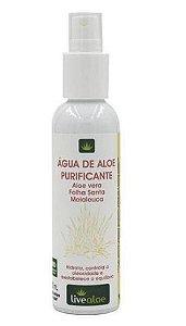 Água de Aloe Purificante 120ml - Livealoe