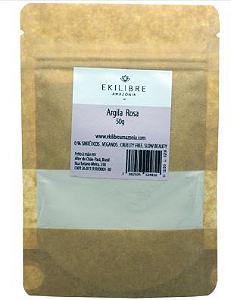 Argila Rosa 50gr - Ekilibre Amazônia