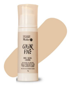 Base Facial Líquida Color Fix Vegana e Natural Cor 03 Sand Beige - Twoone Onetwo