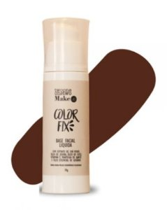 Base Facial Líquida Color Fix Vegana e Natural Cor 07 Chocolate Brown - Twoone Onetwo