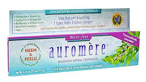 Creme Dental Auromère Mint Free - Balyam