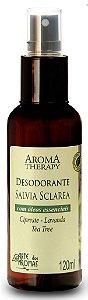 Desodorante Natural Spray Sálvia 120mL  - Arte dos Aromas