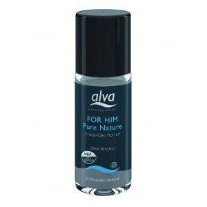 Desodorante Roll-on For Him Pure Nature 50mL – Alva