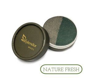 Dueto de Sombras Nature Fresh 3,5g - Glory By Nature - validade 10/2019