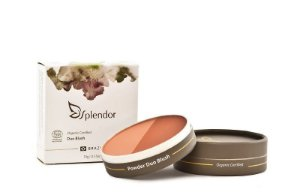 Duo Blush Compacto Orange Spice 10g Coleção Splendor - Glory By Nature
