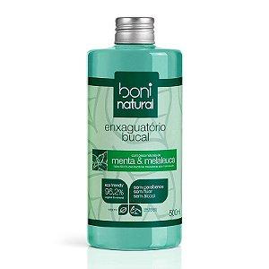 Enxaguante Bucal Natural e Vegano 500 ml - Boni